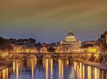 ноча rome стоковые фотографии rf