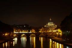 ноча rome Стоковое фото RF