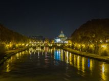 ноча rome Стоковое Изображение RF
