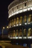 ноча rome colosseum Стоковая Фотография