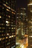 ноча san francisco заречья финансовохозяйственная Стоковое Изображение RF