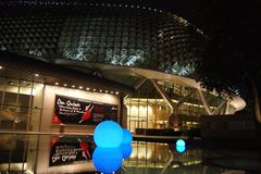 ноча singapore Стоковые Фотографии RF