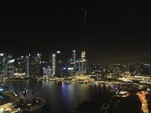 ноча singapore Стоковые Изображения RF