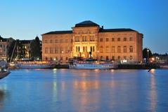 ноча stockholm стоковые изображения