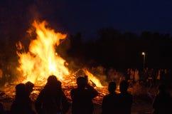 Ноча Walpurgis Стоковые Изображения RF