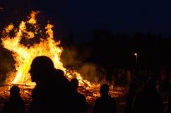 Ноча Walpurgis Стоковые Фотографии RF