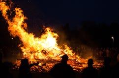 Ноча Walpurgis Стоковое Изображение