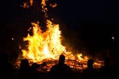 Ноча Walpurgis Стоковое фото RF
