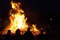 Ноча Walpurgis Стоковая Фотография
