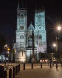 ноча westminster аббатства Стоковое Изображение RF