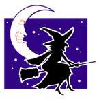 Ноча Witchy Стоковое Изображение