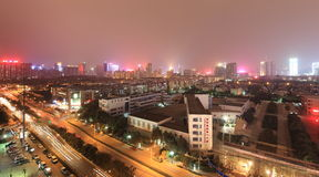 ноча XI города Стоковое Фото