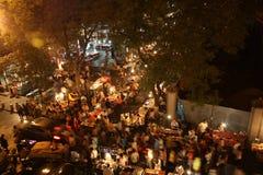 ноча xian рынка фарфора мусульманская Стоковое Фото