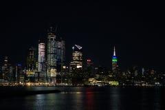 ноча york города новая Стоковое Фото