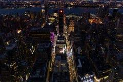 ноча york города новая Стоковые Фото