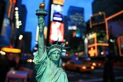 ноча york дня города новая Стоковые Изображения RF