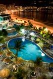 ночи acapulco Стоковые Изображения RF