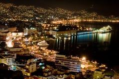 ночи acapulco Стоковая Фотография