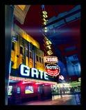 Ночи Fremont стоковые изображения