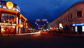 ночи latvia города рождества сказ fairy захолустный скоро подобный к Стоковое Изображение RF