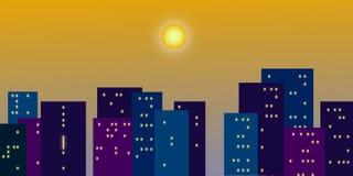 ночи latvia города рождества сказ fairy захолустный скоро подобный к Иллюстрация штока