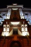 ночи latvia города рождества сказ fairy захолустный скоро подобный к Стоковые Фотографии RF
