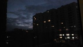 ночи latvia города рождества сказ fairy захолустный скоро подобный к Стоковое Фото