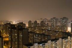 ночи latvia города рождества сказ fairy захолустный скоро подобный к kiev Стоковая Фотография