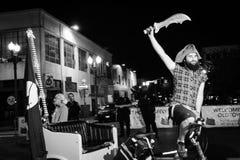 Ночная жизнь Портленда! Стоковое Изображение RF