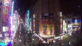 Ночная жизнь токио Стоковая Фотография