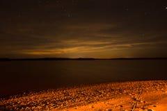 Ночное небо в Флориде Стоковое Фото