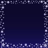 ночное небо граници Стоковое Изображение RF