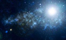 Ночное небо, звезды стоковые фото