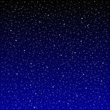 Ночное небо звезд бесплатная иллюстрация