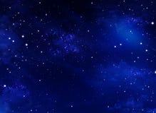 ночное небо звёздное Стоковое фото RF