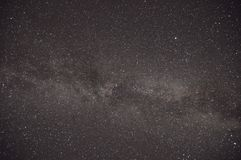 Ночное небо и звезды стоковые фото