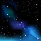 ночное небо молнии иллюстрации абстракции Иллюстрация штока