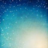ночное небо молнии иллюстрации абстракции иллюстрация вектора