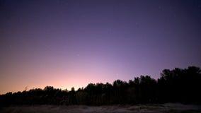 ночное небо молнии иллюстрации абстракции Стоковые Фотографии RF