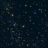 ночное небо предпосылки звёздное иллюстрация штока