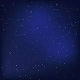 ночное небо стоковое изображение rf