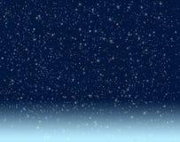 ночное небо Стоковая Фотография