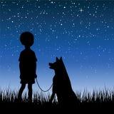 ночное небо Стоковое фото RF