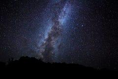 ночное небо стоковые изображения rf