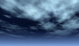 ночное небо иллюстрация вектора