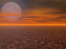 ночное небо Стоковые Изображения
