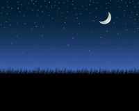 ночное небо Стоковое Фото