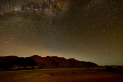 Ночное небо NamibRand - Намибия стоковые изображения