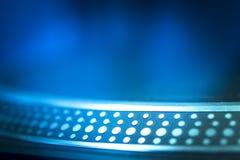 Ночной клуб партии музыки дома Ibiza turntable рекордного игрока Стоковое Фото