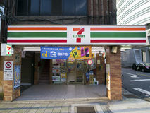 7 11 ночной магазин, 7-11 Стоковая Фотография